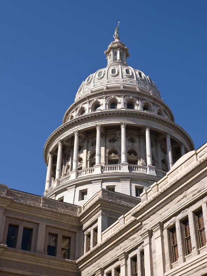 得克萨斯状态国会大厦 免版税库存图片