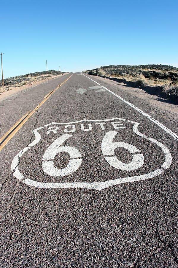 得到您的在路线66的解雇 库存图片