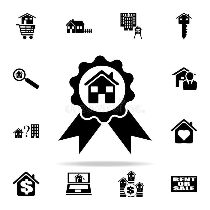 得奖的房子象 网和机动性的房地产象全集 皇族释放例证