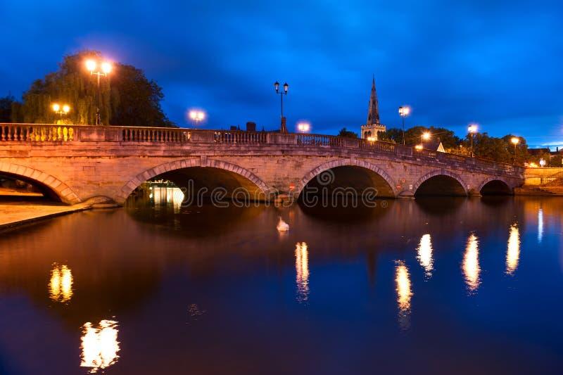 贝得福得桥梁在贝得福得,英国 免版税库存图片