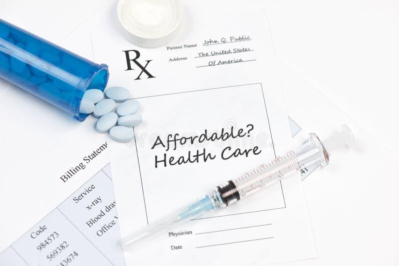 付得起的医疗保健 免版税库存照片