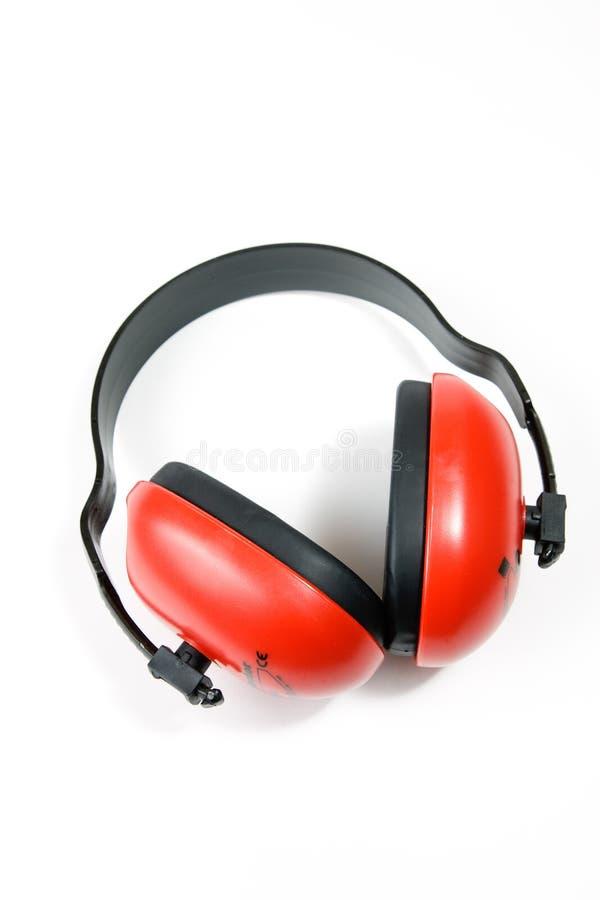 御寒耳罩听力保护 库存图片
