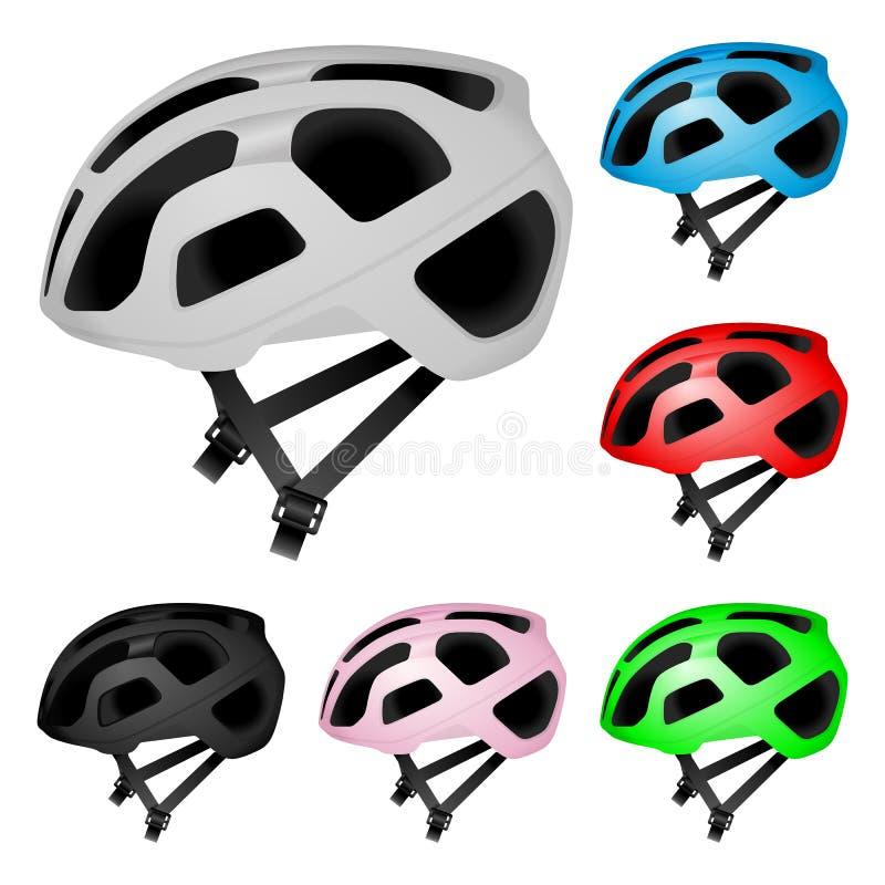 循环的盔甲集合 库存例证