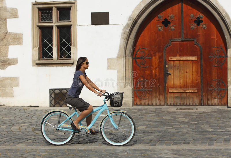 循环都市 免版税库存图片