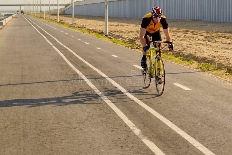 循环,赛跑自行车 图库摄影