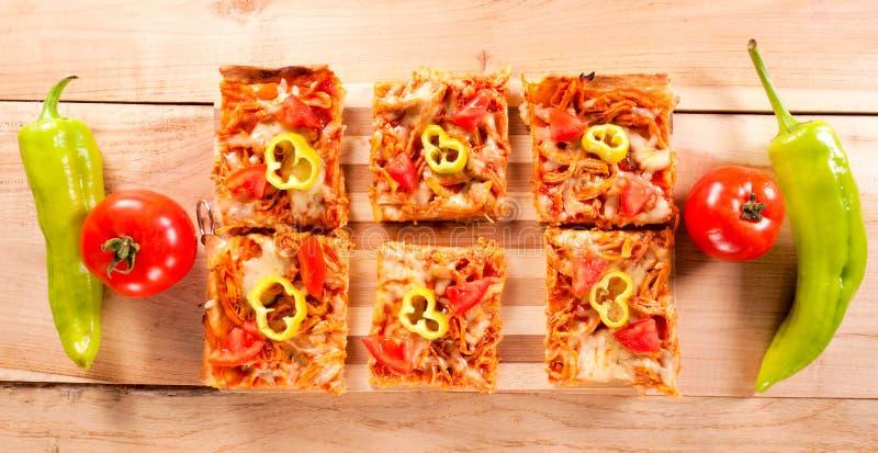 微型三明治 免版税库存图片