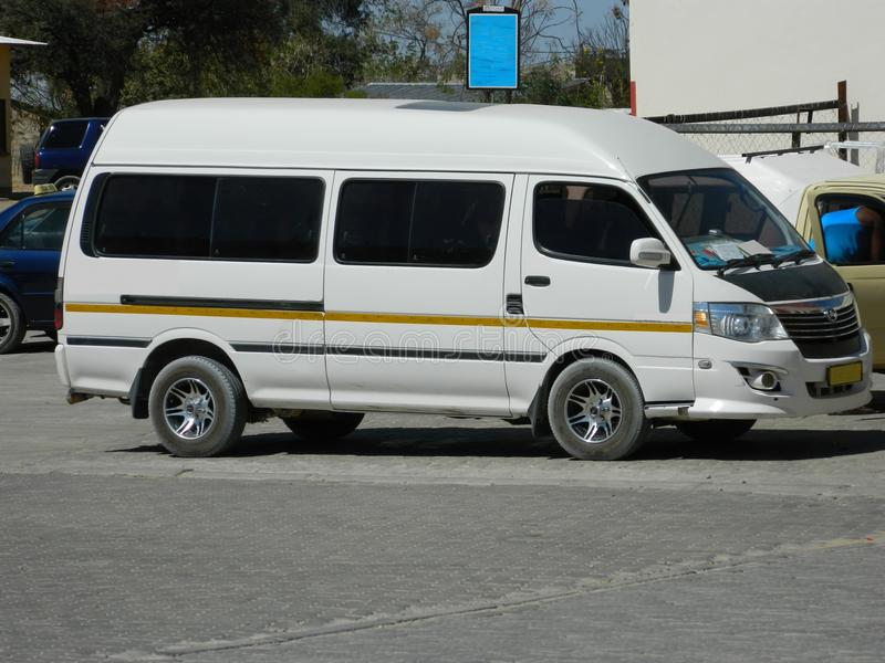 微型公共汽车 图库摄影