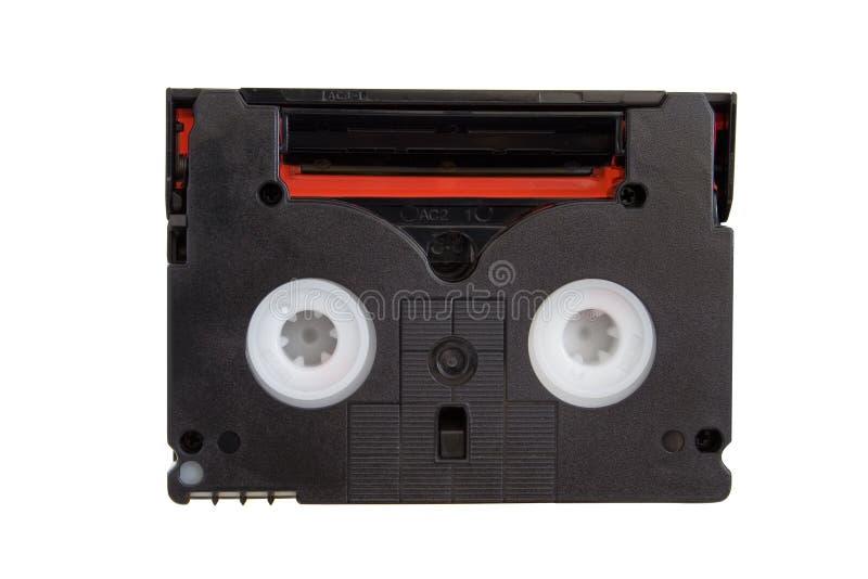 微型卡式磁带的dv 库存照片