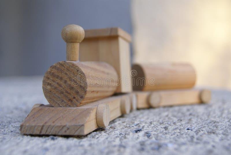微型木火车 免版税库存照片