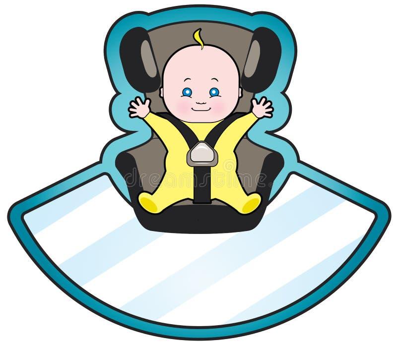微型汽车位子 皇族释放例证