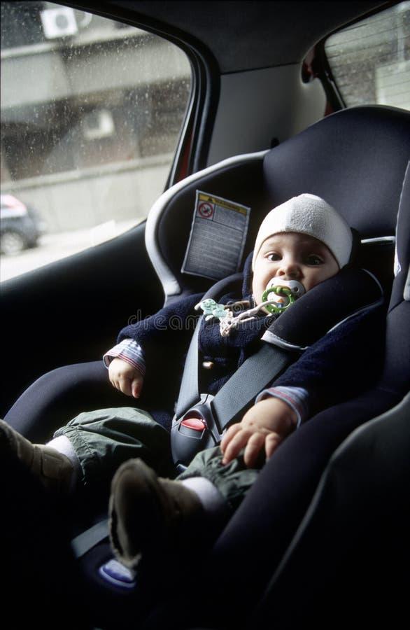微型汽车位子 免版税库存照片