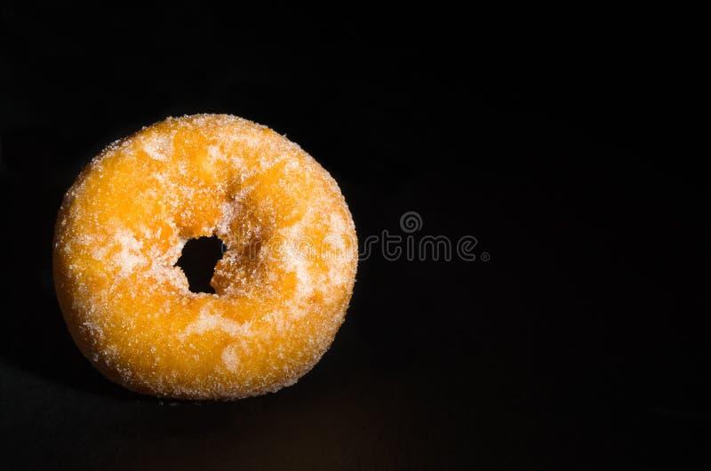 微型油炸圈饼糖 免版税库存照片