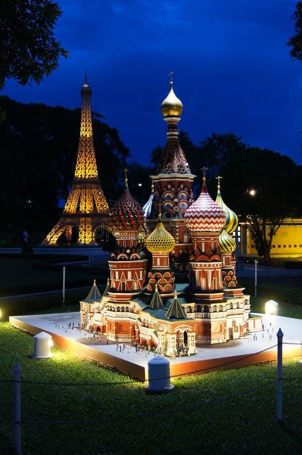 微型泰国公园 免版税库存照片