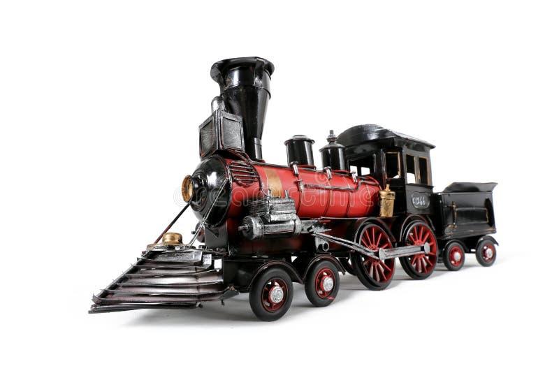 微型玩具蒸汽机车火车引擎 库存照片