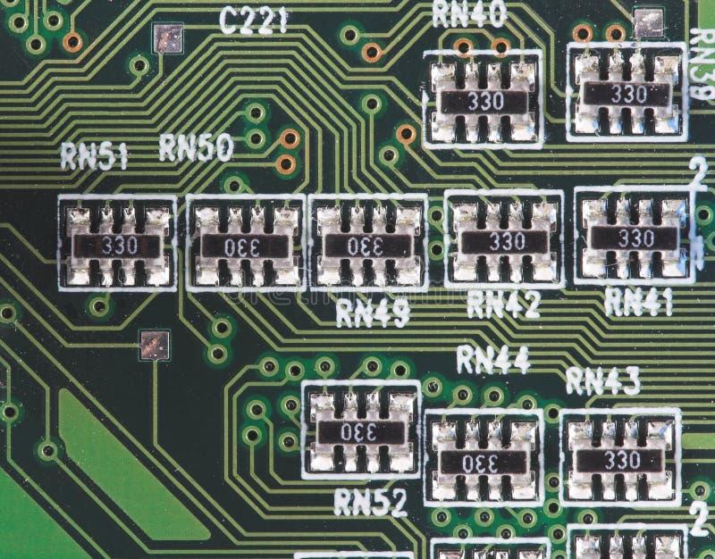 微型电路 库存照片
