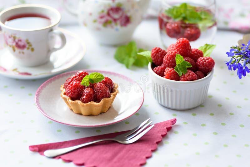 微型馅饼用莓果子 库存图片
