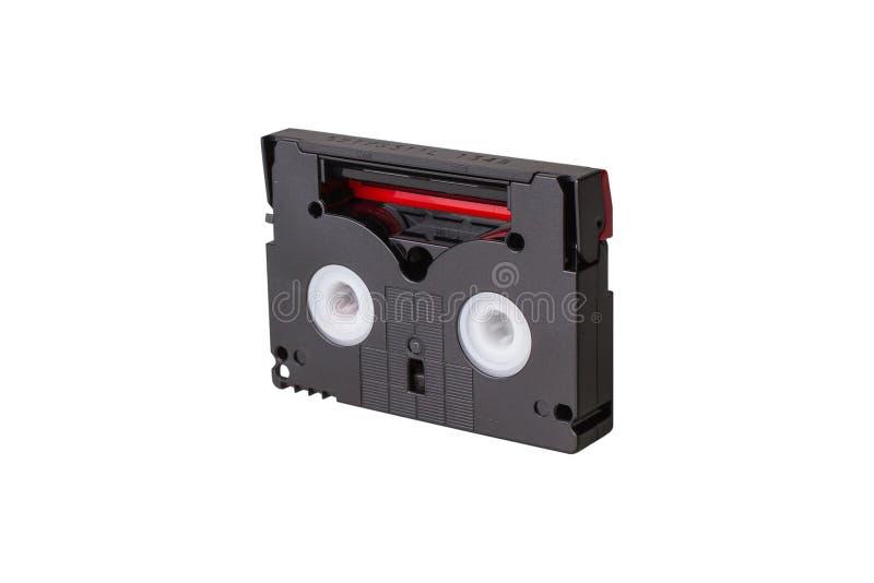微型DV卡式磁带 库存图片