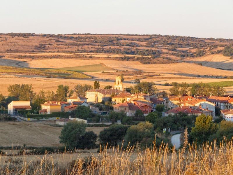 微小的村庄-年龄 免版税库存照片