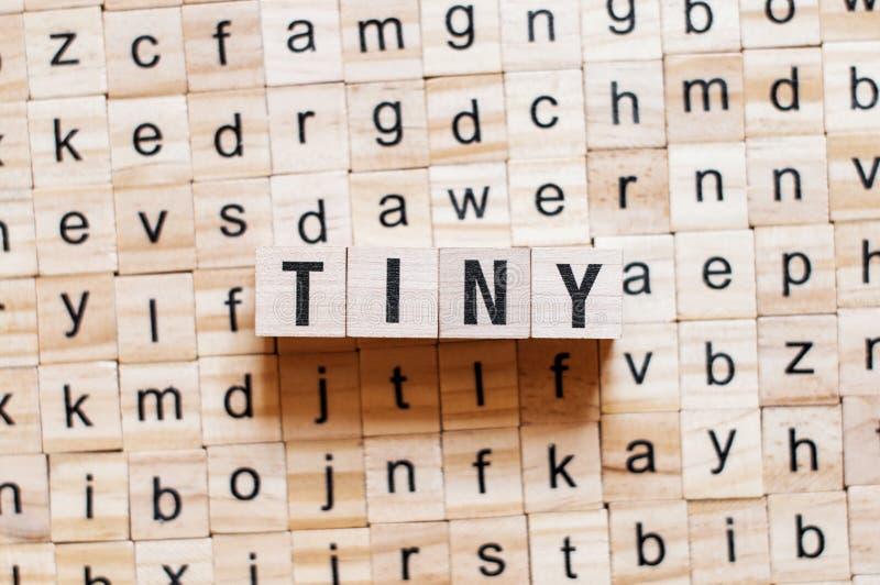 微小的词概念 库存照片