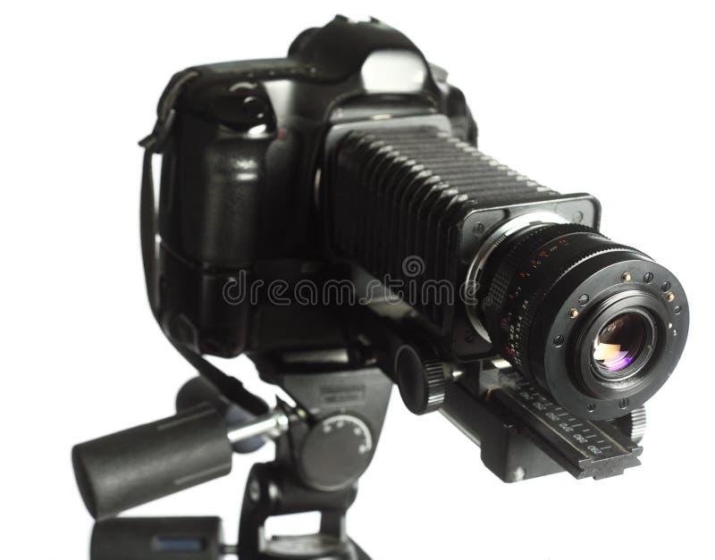 微摄影专业人员船具 免版税库存图片