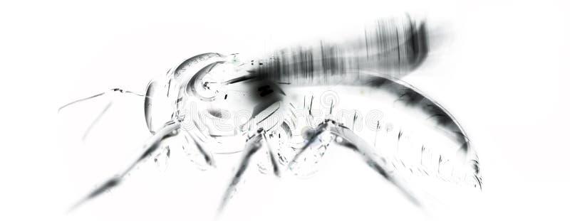 微机器人学 免版税图库摄影
