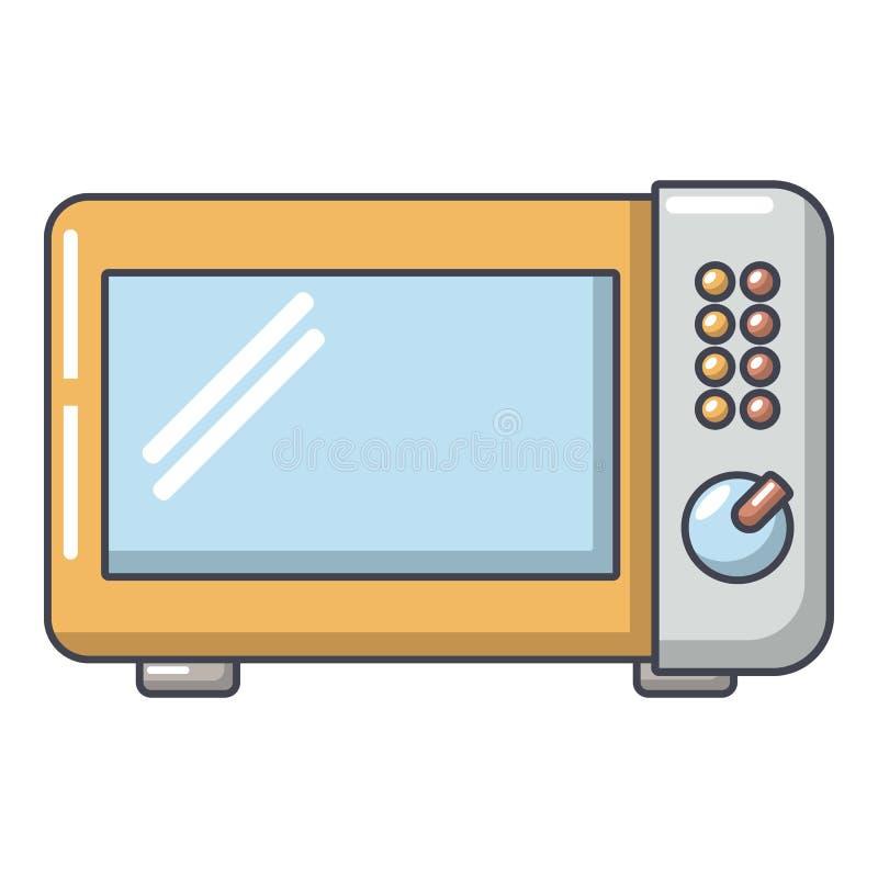 微波炉象,动画片样式 皇族释放例证