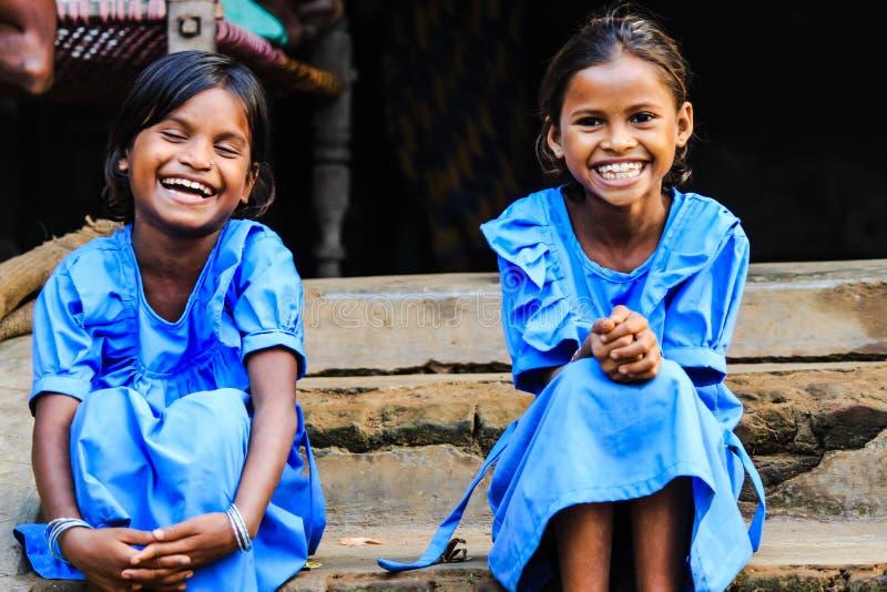 微笑是传染性的 库存照片