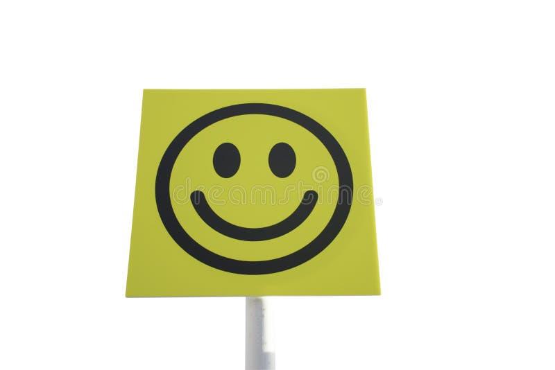 微笑标志 库存照片