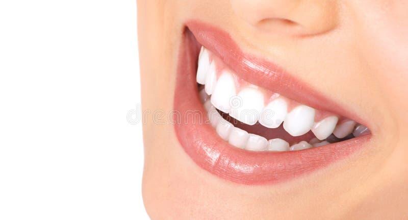 微笑牙 库存图片