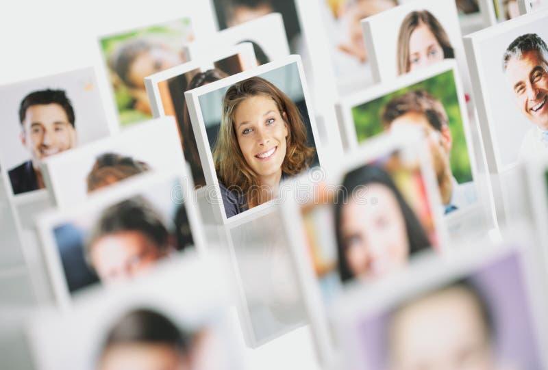 微笑的人民 免版税库存图片