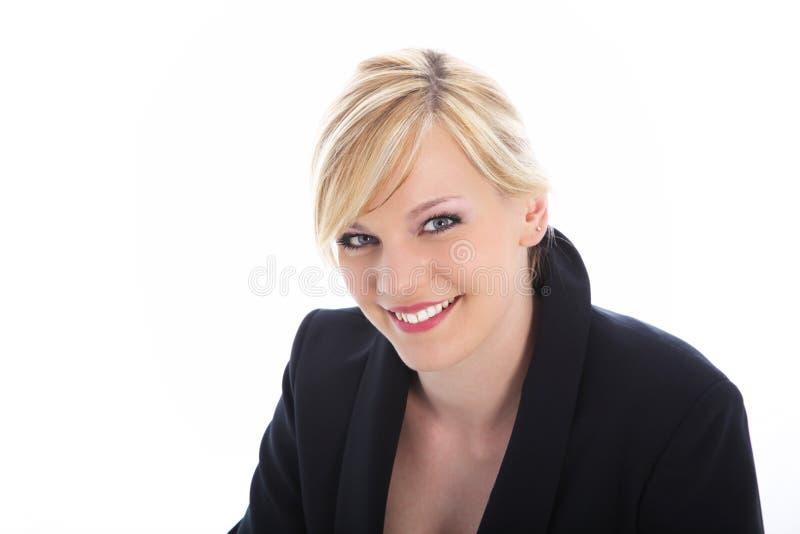 微笑的办公室工作者或专业人员 库存照片