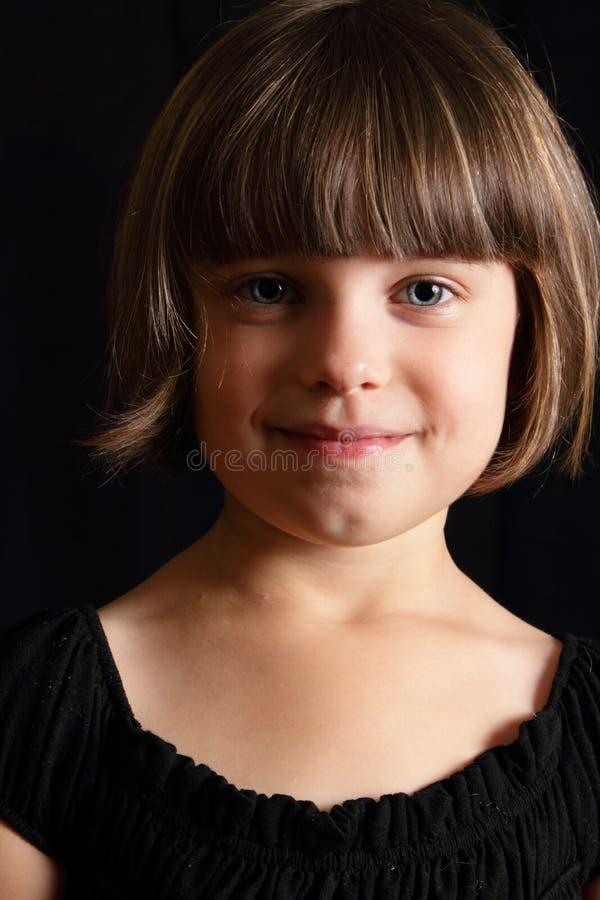 微笑的子项 免版税库存照片