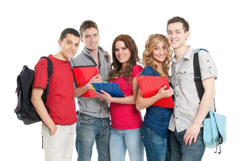 微笑的学员 免版税图库摄影