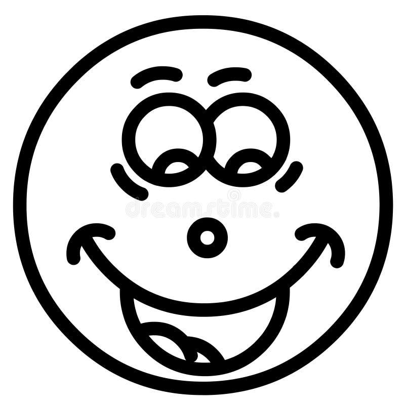 微笑表面 库存照片