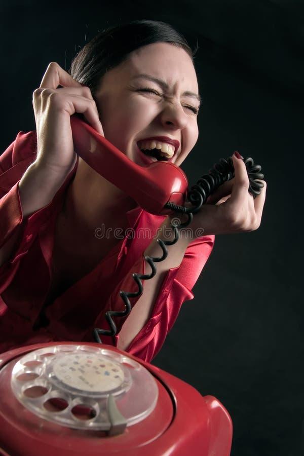 微笑语音 免版税库存照片