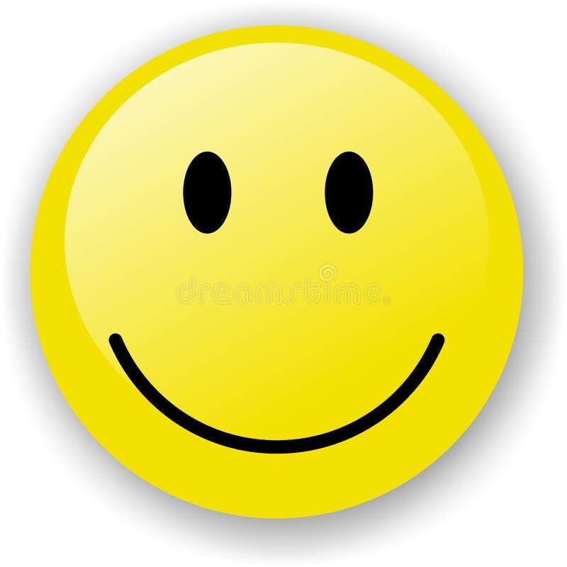 微笑 皇族释放例证