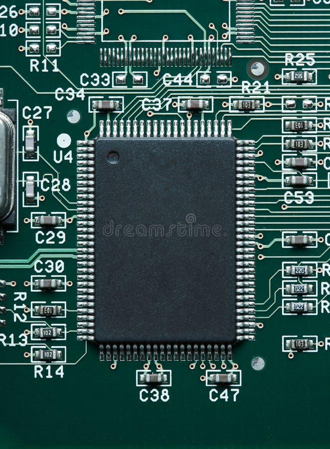 微芯片 免版税图库摄影