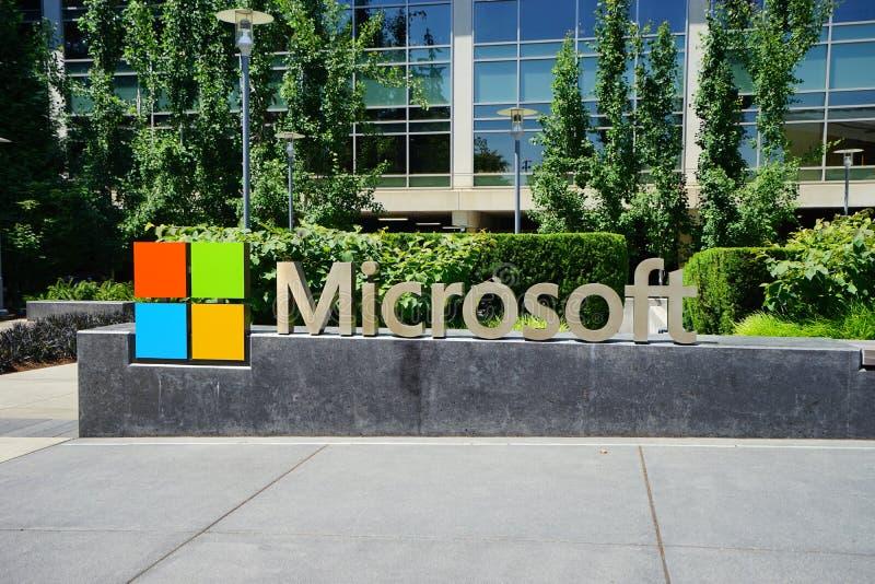 微软总部 库存图片