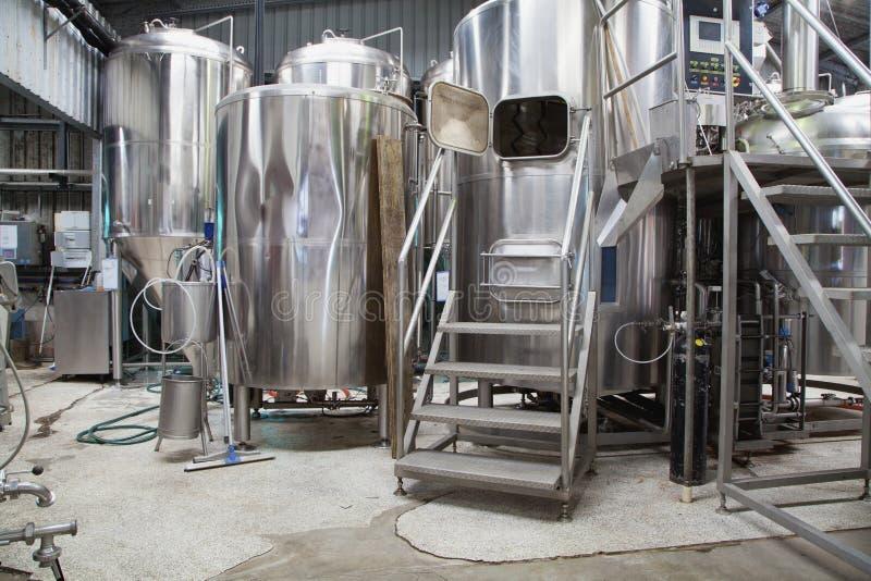 微酿酒厂 库存照片