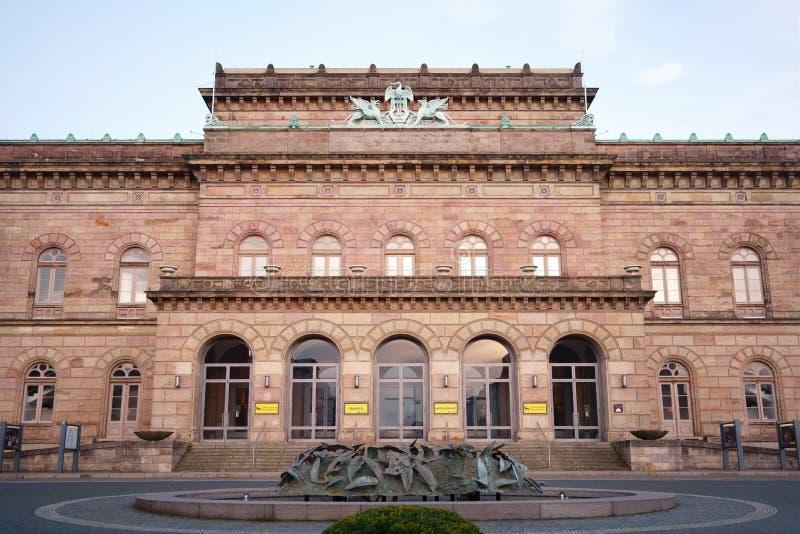 德国下萨克森州布朗施威格剧院 免版税库存照片