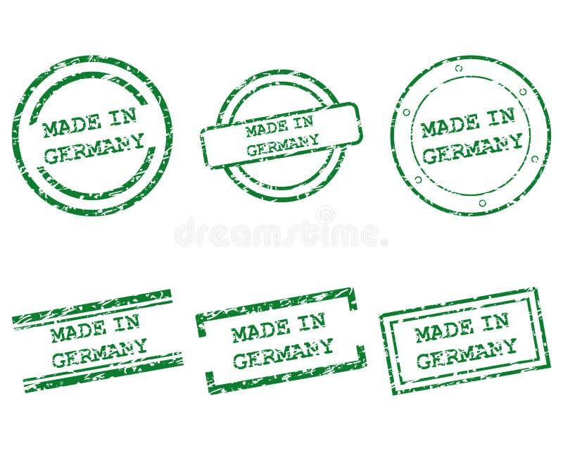 德国做印花税 皇族释放例证