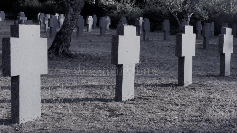 德国公墓2 库存图片