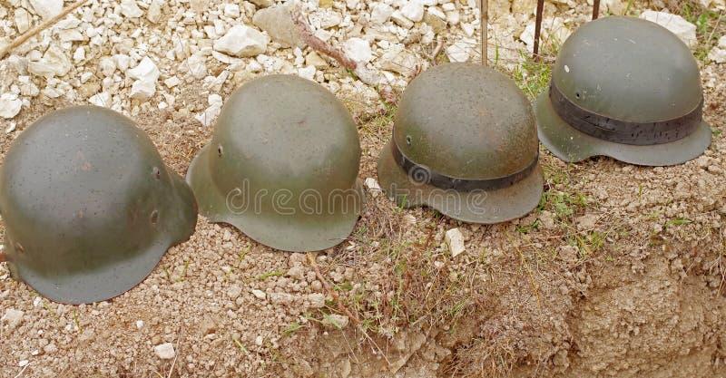 德国军队盔甲 免版税库存图片