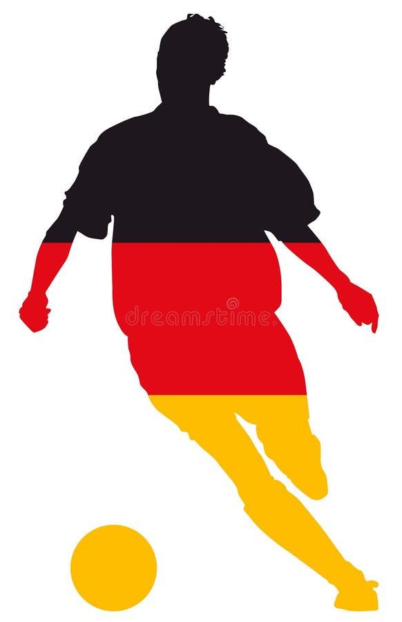 德国向量 向量例证
