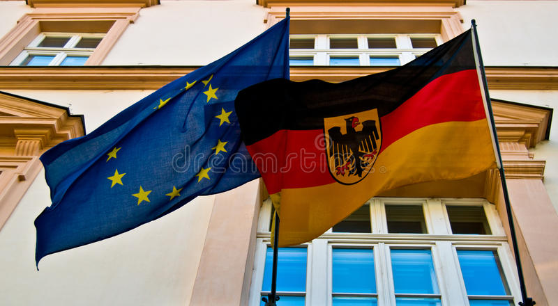德国和欧盟 库存照片