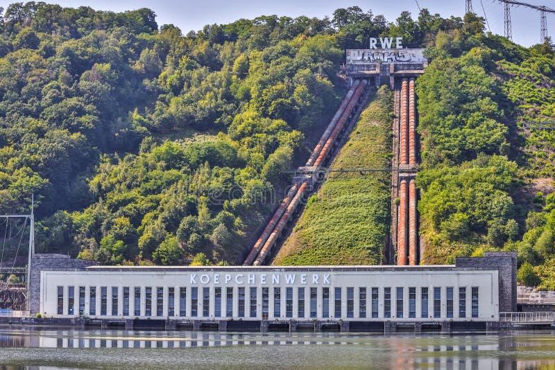 德国哈根附近雷韦抽水蓄能电站 免版税图库摄影