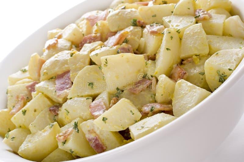 德国土豆沙拉 免版税库存图片