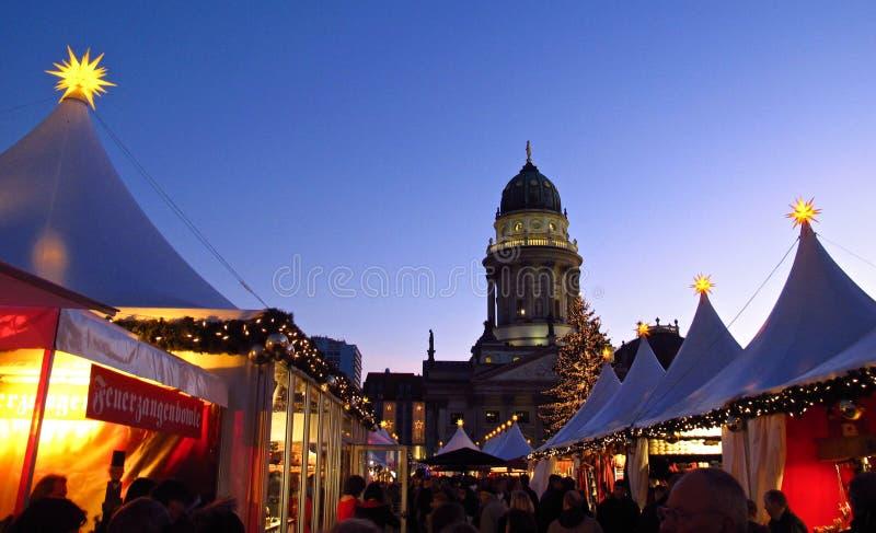 德国圣诞节市场柏林德国 库存图片