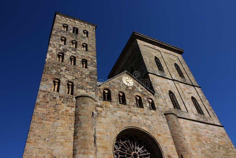 德国奥斯纳布吕克主教座堂 库存照片