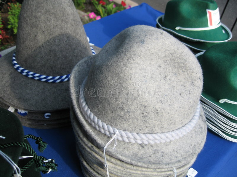 德国帽子销售额 图库摄影